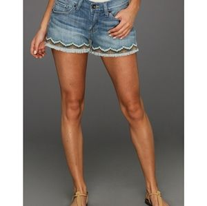 Lucky Brand Riley Short Embroidered Shorts, 12/31